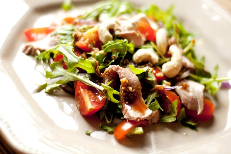 salatka z kaczka