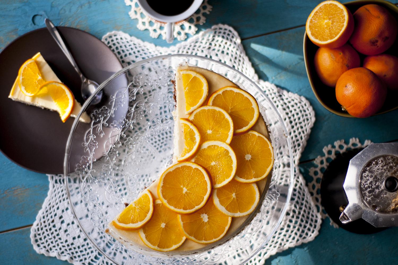 sernik pomaranczowy