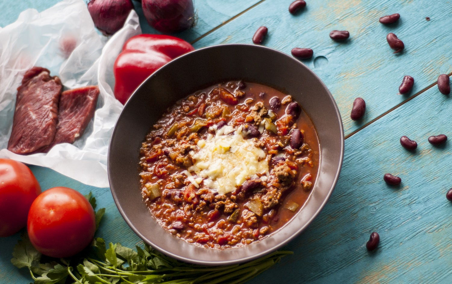zupa chili, chili soup