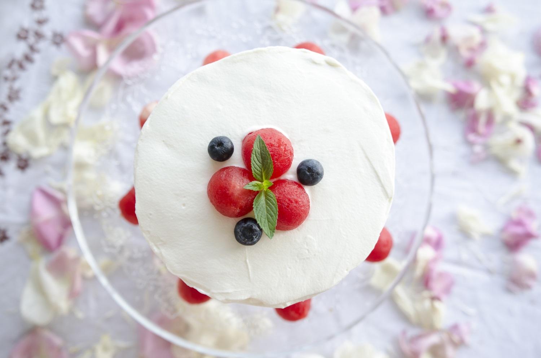 tort z arbuza watermelon cake